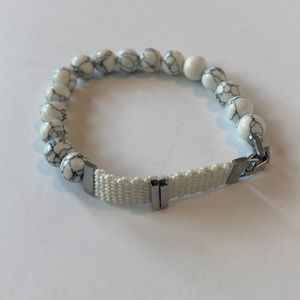 Keep Collective Howlite bead bracelet